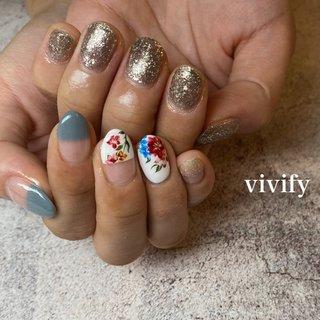 #夏 #梅雨 #vivify-saki #ネイルブック