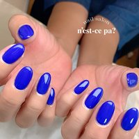 潔い、ロイヤルブルーのワンカラー  ネイビーではなく、夏のブルーとも違う上品で綺麗なブルー✨  #nail #nails #naildesign #nailsalon #jelnail #japan #instanail #fashion #nailart #summernails #springnails #ネイル #ネイリスト #ネイルデザイン #ネイルサロン #ジェルネイル #夏ネイル #春ネイル #ネセパネイル #さいたま市ネイルサロン #東浦和ネイルサロン #さいたま市ネイルスクール #東浦和ネイルスクール #夏 #オールシーズン #ワンカラー #ブルー #ジェル #お客様 #ネセパネイル salon&school #ネイルブック