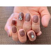 #ワンカラー # #Nail Salon Rose,h #ネイルブック