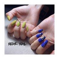 @edit.tins の @meg_nail 先生プロデュースカラーを使ってアシメネイル☺︎ . このピスタチオカラーもブルーもこんな色めっちゃ求めてた!. . 発色もほんまに良くて、テクスチャーもめっちゃ好きな心地でした♡. . #nail #naildesign #nailart #nailstagram #ネイル #ジェルネイル #ネイルデザイン #ネイルアート #痛ネイル #キャラクターネイル #ネイルスタグラム #ネイルサロン #自宅ネイルサロン #プライベートネイルサロン #寝屋川ネイル #寝屋川ネイルサロン #寝屋川 #門真 #四條畷 #香里園 #お洒落ネイル #トレンドネイル #アシメネイル #ピスタチオネイル #ブルーネイル #ニュアンスネイル #edit #オールシーズン #ハンド #ワンカラー #ニュアンス #グリーン #ブルー #ジェル #お客様 #NEAR NAIL #ネイルブック