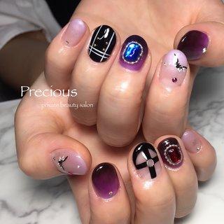 . . アニメキャラを イメージ♡ . . . . Precious 048-915-5205 . #Precious#privatebeautysaron#越谷ネイルPrecious#定額制#ネイルサロン#越谷#新越谷Precious#オリジナル#ハーネス ネイル#キャライメージ♡夏ネイル#おまかせネイル#koshigaya#saitama#nail#NAIL#cute#follow me#follow#japan nails#japan#purple nails #Precious 〜プレシャス〜 #ネイルブック