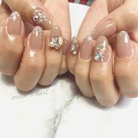 #cream's nail #ネイルブック