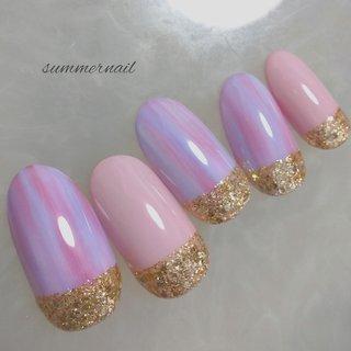 #夏 #夏ネイル2020 #ピンク #ピンク #GM nail #ネイルブック