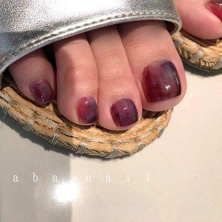 𖥣 𖤣 ⚚ 𖥧 𖡼 𝑇ℎ𝑎𝑛𝑘 𝑦𝑜𝑢 𝑎𝑠 𝑎𝑙𝑤𝑎𝑦𝑠. 🕊♡ __________________________________✍︎ ☞ 𝑓𝑜𝑜𝑡 × 𝑛𝑢𝑎𝑛𝑐𝑒 ─────────── . . .  #aiii_nail_aiii #ainail  #nails#nails#nailart#naildesing#gelnails#pic#photo#ニュアンスネイル#アシンメトリーネイル#シンプルネイル#ワンカラーネイル#個性派ネイル#手描き#ネイル #ネイルデザイン#美爪#젤레일#美甲師#おしゃれ#名古屋#名古屋ネイルサロン#矢場町ネイルサロン#オシャレネイル#beige#アシンメトリーネイル#アート#clear#ワイヤーネイル#大理石#夏ネイル #夏 #オールシーズン #海 #リゾート #フット #ニュアンス #ショート #パープル #ボルドー #カラフル #ジェル #お客様 #aiii_nail_aiii #ネイルブック