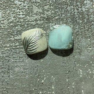 . . . . . サンディカラー🏄♂️ リーフデザイン🌿   #ジェルネイル #グラデーション #nail #nails #nailart  #夏ネイル #夏ネイルデザイン #summernail  #ニュアンス #ニュアンスネイル #オトナ女子ネイル #シェル #シェルネイル #ミラーネイル #メタリック #メタリックネイル #footnailデザイン #footnail #淡水パール #おしゃれさんと繋がりたい #pregel #paragel #initygel #novel #大阪ネイル #岸和田ネイル #nailsalonupala #upala #シンプルネイル #大阪ネイル #岸和田ネイル #nailsalonupala #upala #夏 #旅行 #海 #リゾート #フット #ニュアンス #マリン #ボタニカル #オーロラ #ミラー #ホワイト #水色 #シルバー #ジェル #ネイルチップ #upala Mayuko #ネイルブック