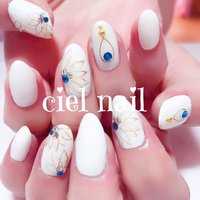 #夏 #オールシーズン #Chiho♥ciel #ネイルブック