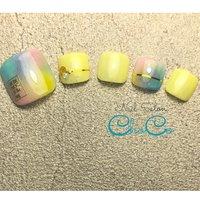 . ✨フットサンプル🦶✨ . 💜カラフルネイル💙 . 今回は黄色をメインに♪ . . 期間限定キャンペーンデザイン ¥8500→7000 . . . . *:.。..。.。o○*:.。..。.。o○*:.。..。.。o○*:.。..。.。 . ⚠️コロナ対策⚠️ . アクリルガードの設置 . 手指消毒 . マスクはお一人ごと変更 . 店内家具、器具類 消毒の徹底 . 換気、加湿を行なっております! . *:.。..。.。o○*:.。..。.。o○*:.。..。.。o○*:.。..。.。 . . 💅予約サイトは ✨ネイルブック📚✨にて受付中です。 又、📞電話.LINEでもお問い合わせ可能です。 電話に出られない場合もございますので、 留守電又はLINEにてご連絡お願い致します。 後程、折り返しご連絡致します。 . . *・゜゚・*:.。. *・゜゚・*:.。. *・゜゚・*:.。. *・゜゚・*:.。. . 💅Nail Salon ChoCo✨ . ☎️0940-22-8107 . 定休日 月曜日(講習受講等で不定休有) . 営業時間 9時〜19時(最終受付17:00) . 駐車場 有り (お車の方はお電話またはLINEでお伝え致します)  . 車  3号線より自由ヶ丘方面へ降りてすぐ (サニー森林都市店様すぐ)  赤間駅から車5分 . バス 赤間駅より森林都市バス停目の前 (8-2 又 急行 行きへお乗り下さい) 赤間駅南口からバスで6分  . . ⭐︎LINE ID⭐︎ nailsalon_choco  . ⭐︎Twitter⭐︎ nailsalon_ChoCo  . ⭐︎nailbook⭐︎ https://nailbook.jp/nail-salon/27976/ . ご質問がございましたら . お気軽にお問い合わせ下さい(*´꒳`*) . *・゜゚・*:.。. *・゜゚・*:.。. *・゜゚・*:.。. *・゜゚・*:.。. . . . #chocoネイルサロン #宗像市自由ヶ丘ネイルサロン #宗像ネイルサロン #宗像市自由ヶ丘 #宗像市  #赤間ネイルサロン #赤間ネイル #東郷ネイルサロン #海老津ネイルサロン #岡垣ネイルサロン #福津ネイルサロン #nailsalon  #ネイルサロン  #nail#ネイル  #jelnail #ジェルネイル  #パラジェル #palagel  #スパルーチェ#spaluce  #ジェリップ #ココイスト #プライベートネイルサロン #ネイルサロンオープン #デザインネイル #デザイン#定額デザインネイル #ネイルブック#nailbook #コロナ対策 #カラフルネイル  #ラインテープ #春 #夏 #フット #ピンク #イエロー #水色 #ジェル #ネイルチップ #Nail Salon ChoCo #ネイルブック