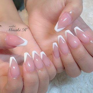 ━━━━━━━━━━━━━━        Hair Make rise      riche nail & eyelash      Nailist❤︎Misaki.K     《 2020.07.04 》   ━━━━━━━━━━━━━━  #ネイル #大阪ネイルサロン #トレンドネイル #夏ネイル #ネイルデザイン #ネイルブック #ネイルアート #ジェルアート #美容 #ネイル2020 #followme #nails #beauty #jelnails #summernails #naildesign #nailart #newnail #kashiwagimisaki   ━━━━━━━━━━━━━━ #オールシーズン #卒業式 #入学式 #オフィス #ハンド #シンプル #フレンチ #変形フレンチ #ワンカラー #ロング #ホワイト #クリア #ピンク #ジェル #お客様 #柏木 美咲 #ネイルブック