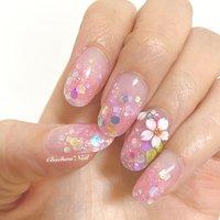 3月のまいネイル♡ . 3ボールと3Dの練習がてら ショートスカ♡ ケアなしで甘皮が汚い、、(´・Д・) 桜の3D好き♪ 一級の時の3Dバタフライに エンボスアートで桜入れたな〜 と思い出す。。 . #nail #nails #naildesign #nailart #gradation #instagram #flowers #art #sakura #chaehwanail #ネイル#ネイルデザイン #さくらネイル #桜ネイル #大人可愛い #桜 #さくら #フラワーネイル #グラデーション #セルフネイル #コロナに負けるな #川崎ネイルサロン #川崎 #손스타그램 #네일#네일아트#네일스타그램 #젤네일 #꽃 #벗꽃 . . . ご予約は↓からお願いします! *ネイルブックネット予約(プロフィールのURLから予約可能!) . お問い合わせは↓からお願いします! *LINE@ : @chaehwa_nail(@から検索) *Instagram DM : @chaehwa_nail . ご連絡お待ちしております(*´꒳`*)♪ Chaehwa*Nail #春 #パーティー #デート #女子会 #ハンド #グラデーション #ホログラム #フラワー #3D #ミディアム #ピンク #スカルプチュア #セルフネイル #chaehwa_8127 #ネイルブック