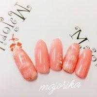 #Nailbook #ピンク #ジェル #ma121212 #ネイルブック
