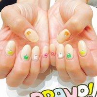 NEW My nail #夏 #ハンド #ワンカラー #ミディアム #ベージュ #ジェル #セルフネイル #No_710 #ネイルブック