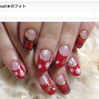 クリスマスネイル★彡 #miyuchan_id #ネイルブック
