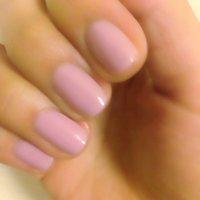 薄い青みのあるピンクで春色ネイル。 #ハンド #ワンカラー #ピンク #マニキュア #yumi1116 #ネイルブック