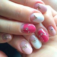 #Nailbook #ピンク #ジェル #セルフネイル #yi021 #ネイルブック