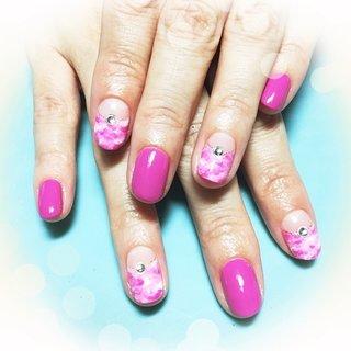 定番のピンクマーブルはやっぱり人気(≧∇≦) #ハンド #マーブル #ピンク #ジェル #hhr999 #ネイルブック