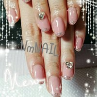 #ハンド #シンプル #ピンク #お客様 #nmnail17 #ネイルブック