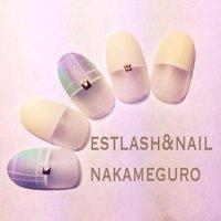#Nailbook #ハンド #フレンチ #ホワイト #ジェル #estnail_nakaneguro #ネイルブック