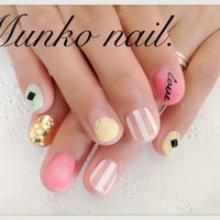 #Nailbook #munko. #ネイルブック