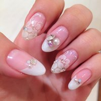 Bridal nail:) #Risa Hirashima #ネイルブック