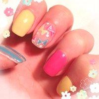 アメブロhttp://profile.ameba.jp/blossommotomachi/ #春 #ハンド #リボン #ピンク #ジェル #セルフネイル #blossommotomachi #ネイルブック