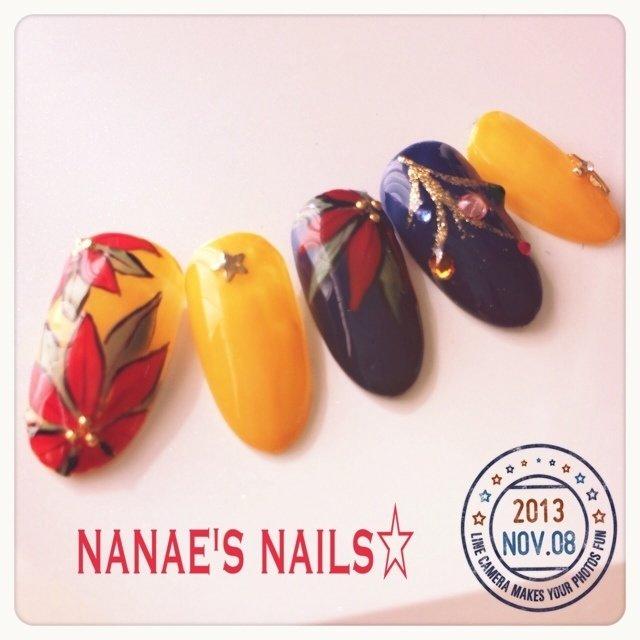 クリスマスネイル((* ´艸`)) #Nanae Kakoi #ネイルブック