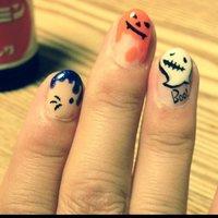 #Nailbook #ハロウィン #ハンド #セルフネイル #Eiko Katou #ネイルブック