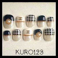 しゃねる!\(^o^)/ #ハンド #セルフネイル #kuro123 #ネイルブック