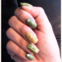 #Nailbook #ハンド #グリーン #Narumi0913 #ネイルブック
