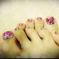 #Nailbook #ピンク #セルフネイル #Aimi Akiyama #ネイルブック