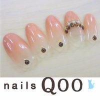 聖蹟桜ヶ丘のネイルサロン♪ nails Qoo 駐車場完備☆  #夏 #グラデーション #nailsQoo #ネイルブック