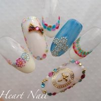 #Nailbook #heartnail #ネイルブック