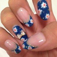 #Nailbook #ブルー #NailsMonica #ネイルブック