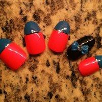 multi color holographic accent nail set ;) #nailartfun #ネイルブック