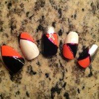 geometric nail set ;) #nailartfun #ネイルブック