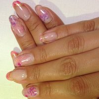 #Nailbook #フレンチ #ピンク #お客様 #NailsMonica #ネイルブック