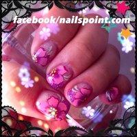 #Nailbook #春 #ハンド #フラワー #ピンク #ジェル #HiToMi_KiNkY #ネイルブック