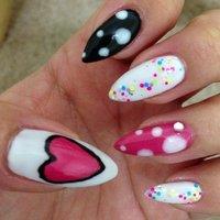 #cool #trend #sweet #春 #ハンド #カラフル #ジェル #Itsapandapanda #ネイルブック