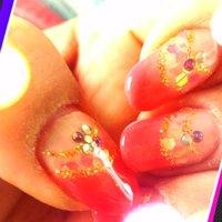 ホロとピンクのダブルフレンチ(*´∀`)b #ハンド #変形フレンチ #ピンク #ジェル #セルフネイル #Nanae Kakoi #ネイルブック
