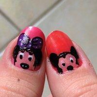 Disney #ハンド #キャラクター #セルフネイル #NailLudiMacarons #ネイルブック
