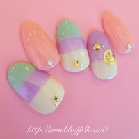 #Nailbook #from_aoi_nail #ネイルブック
