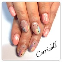 Pastel Nail♡ #パステル #Corridoll #ネイルブック