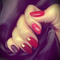 色んな赤!!! 薬指にちょこっとレオパード #レッド #antique_ena #ネイルブック