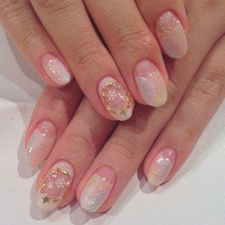 my nail #デート #ハンド #フレンチ #ホワイト #ジェル #sujin_104 #ネイルブック