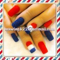 velvet nail #お客様 #MaWinG822 #ネイルブック
