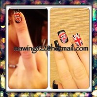 Rollingstones #お客様 #MaWinG822 #ネイルブック