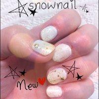 #Nailbook #冬 #ハンド #ワンカラー #ホワイト #ジェル #お客様 #Mayu Nakatani #ネイルブック