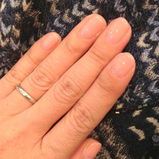 肌にあった優しい色になりました! #ハンド #グラデーション #ピンク #ジェル #Yumiko Tsukada #ネイルブック