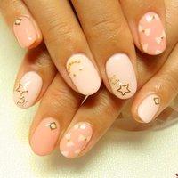 リボン&スマイリー♡ #リボン #ピンク #お客様 #🌿Nail Salon Mille Fleur🌿 #ネイルブック