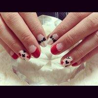 ハロウィンのアリス仮装用♪ #nail_kaji #ネイルブック