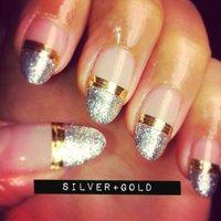 silver+gold! #y_u_m_e_ #ネイルブック